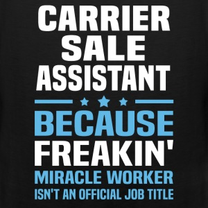 Carrier Sale Assistant - Men's Premium Tank
