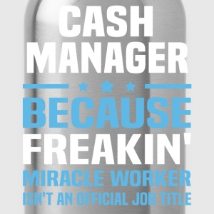 Cash Manager - Water Bottle
