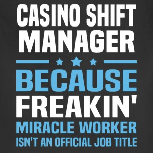 Casino Shift Manager - Adjustable Apron