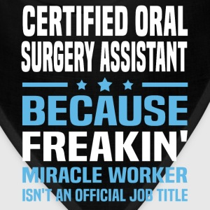 Certified Oral Surgery Assistant - Bandana