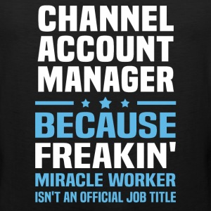 Channel Account Manager - Men's Premium Tank