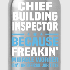 Chief Building Inspector - Water Bottle
