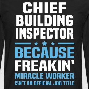 Chief Building Inspector - Men's Premium Long Sleeve T-Shirt