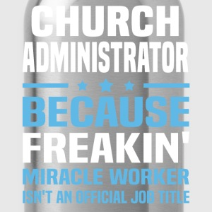 Church Administrator - Water Bottle