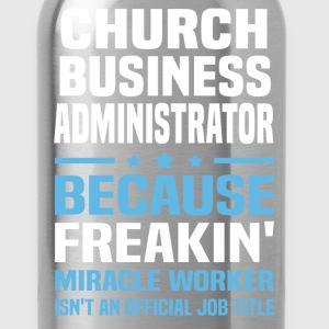 Church Business Administrator - Water Bottle