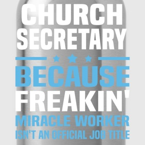 Church Secretary - Water Bottle