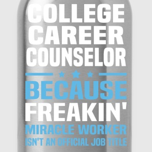 College Career Counselor - Water Bottle