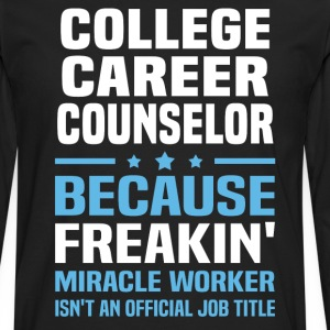 College Career Counselor - Men's Premium Long Sleeve T-Shirt