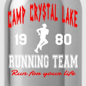 Camp Crystal Lake Running Team T-Shirts - Water Bottle