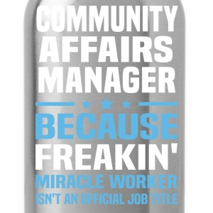 Community Affairs Manager - Water Bottle
