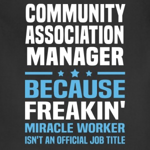 Community Association Manager - Adjustable Apron