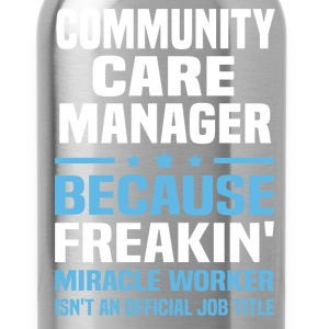 Community Care Manager - Water Bottle
