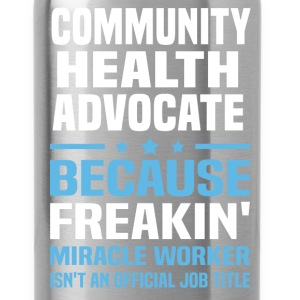 Community Health Advocate - Water Bottle