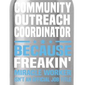 Community Outreach Coordinator - Water Bottle