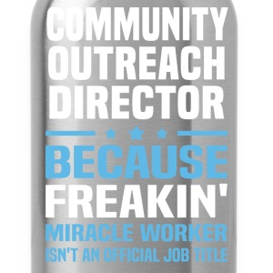 Community Outreach Director - Water Bottle