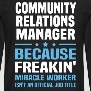 Community Relations Manager - Men's Premium Long Sleeve T-Shirt