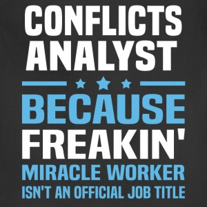 Conflicts Analyst - Adjustable Apron