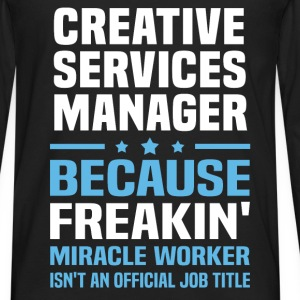 Creative Services Manager - Men's Premium Long Sleeve T-Shirt