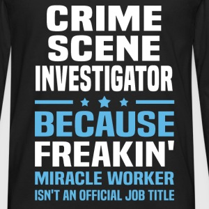 Crime Scene Investigator - Men's Premium Long Sleeve T-Shirt