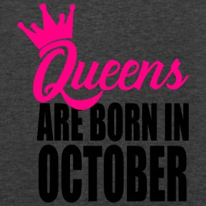 queens are born in october Tanks - Men's V-Neck T-Shirt by Canvas