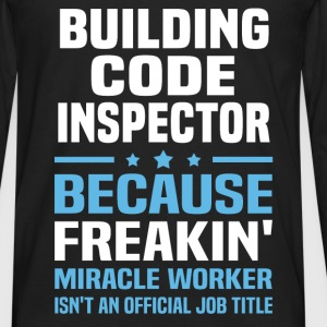 Building Code Inspector - Men's Premium Long Sleeve T-Shirt