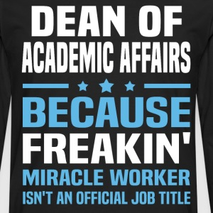 Dean of Academic Affairs - Men's Premium Long Sleeve T-Shirt