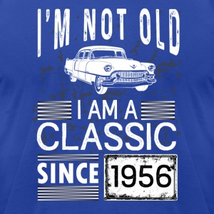 I'm not old I'm a classic since 1956 Tanks - Men's T-Shirt by American Apparel
