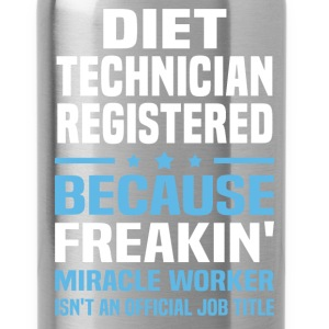 Diet Technician Registered - Water Bottle
