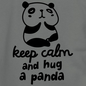 Keep Calm And Hug A Panda T-shirts Enfant - Veste à capuche unisexe American Apparel