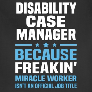 Disability Case Manager - Adjustable Apron