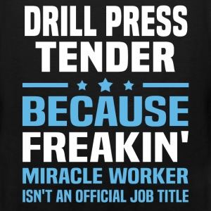 Drill Press Tender - Men's Premium Tank