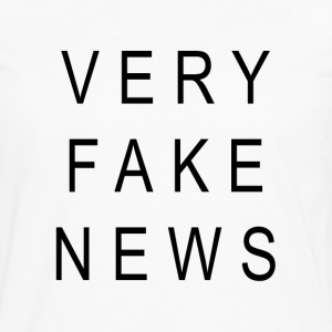 VERY FAKE NEWS - Men's Premium Long Sleeve T-Shirt