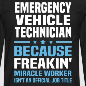 Emergency Vehicle Technician - Men's Premium Long Sleeve T-Shirt