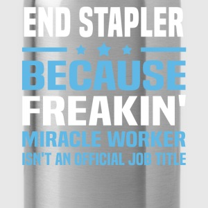 End Stapler - Water Bottle