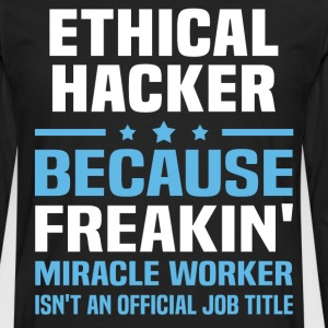 Ethical Hacker - Men's Premium Long Sleeve T-Shirt