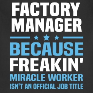Factory Manager - Adjustable Apron