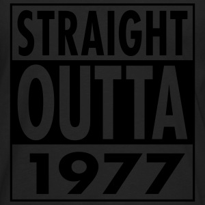 Straight Outta 1977 T-Shirts - Men's Premium Long Sleeve T-Shirt