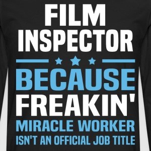 Film Inspector - Men's Premium Long Sleeve T-Shirt