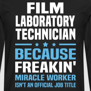 Film Laboratory Technician - Men's Premium Long Sleeve T-Shirt