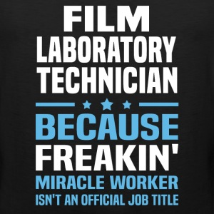 Film Laboratory Technician - Men's Premium Tank
