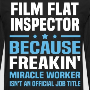 Film Flat Inspector - Men's Premium Long Sleeve T-Shirt