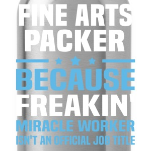 Fine Arts Packer - Water Bottle
