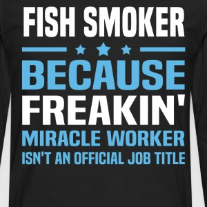 Fish Smoker - Men's Premium Long Sleeve T-Shirt