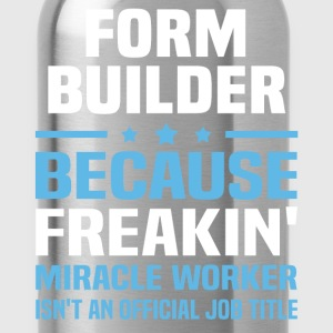 Form Builder - Water Bottle