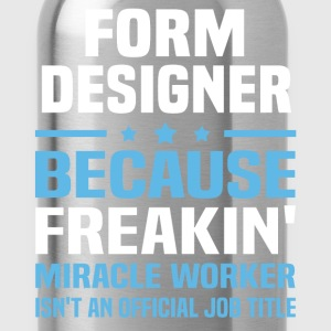 Form Designer - Water Bottle
