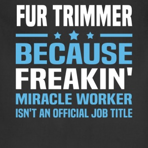 Fur Trimmer - Adjustable Apron