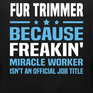 Fur Trimmer - Men's Premium Tank