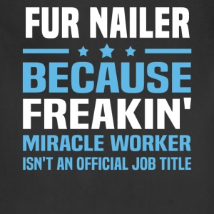 Fur Nailer - Adjustable Apron