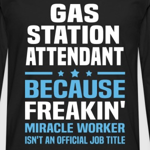 Gas Station Attendant - Men's Premium Long Sleeve T-Shirt
