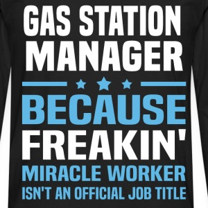 Gas Station Manager - Men's Premium Long Sleeve T-Shirt